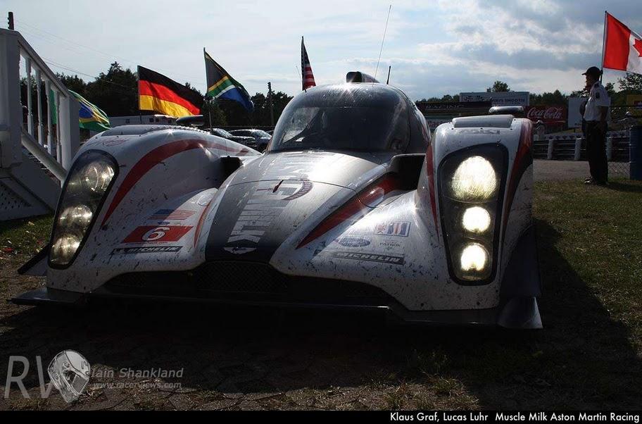Klaus Graf, Lucas Luhr -Muscle Milk Aston Martin Racing