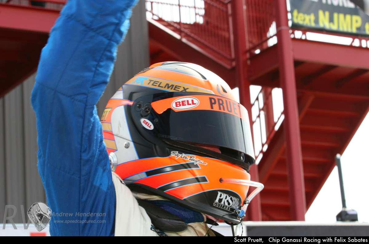 Scott Pruett, Chip Ganassi Racing with Felix Sabates