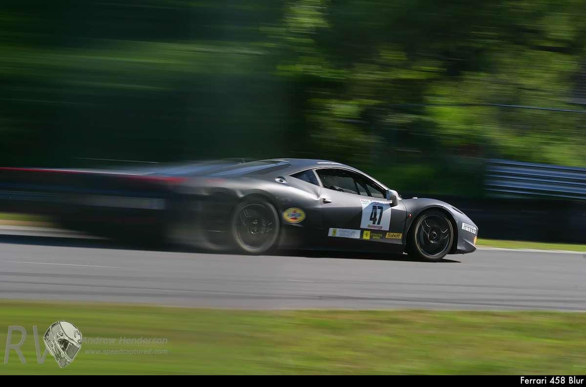 Ferrari 458 Blur