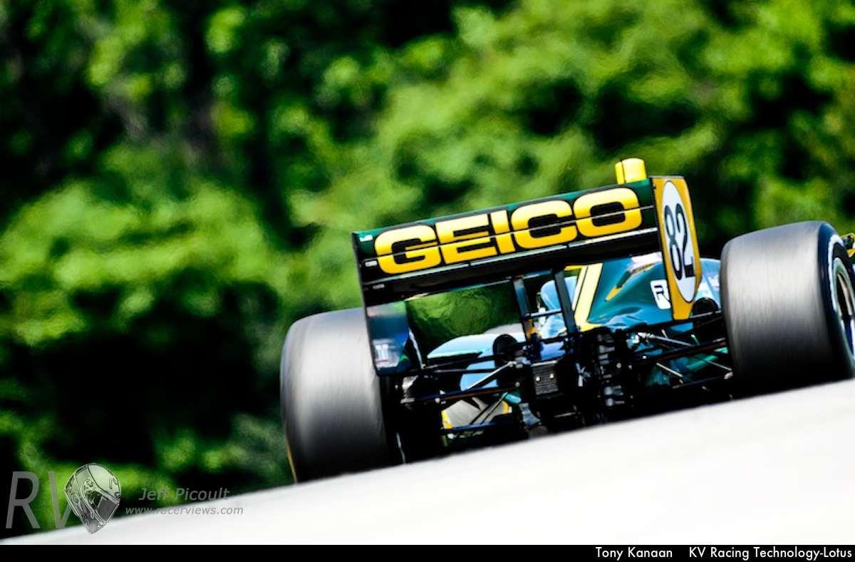 Tony Kanaan KV Racing Technology-Lotus