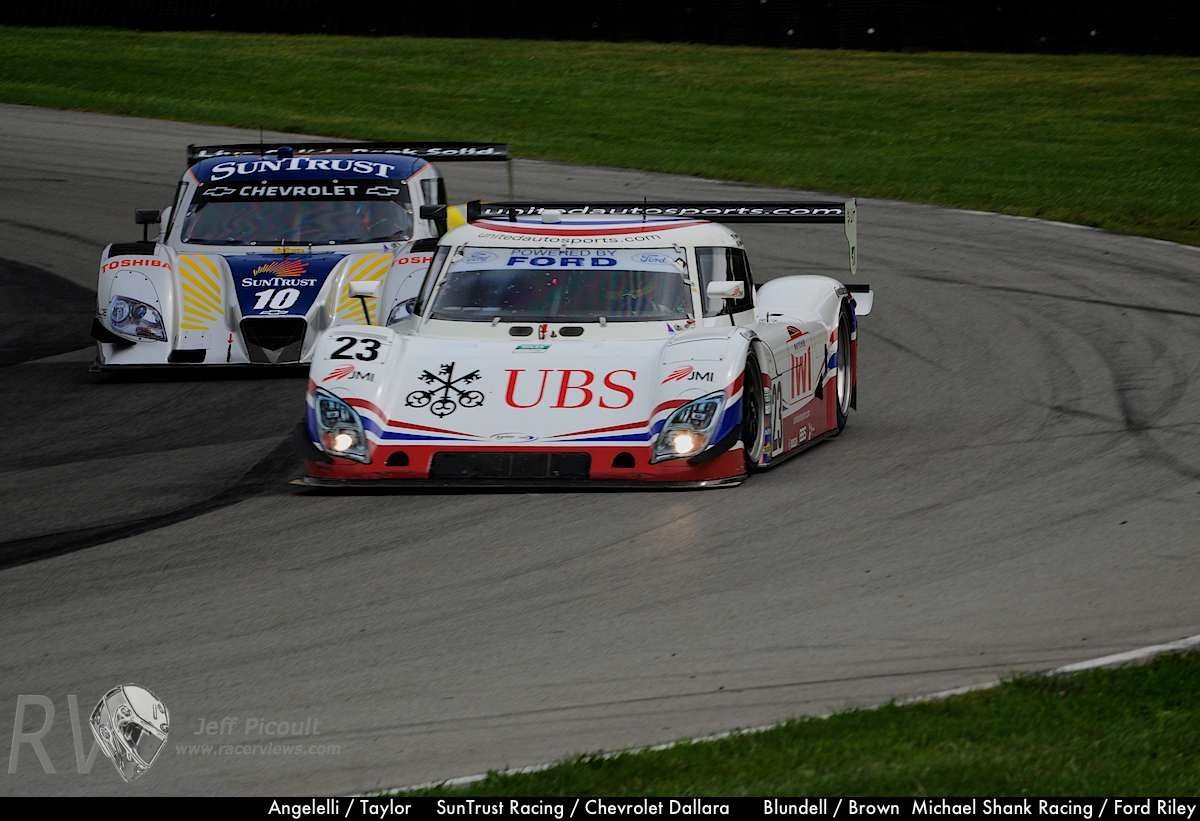 Angelelli - Taylor SunTrust Racing - Chevrolet Dallara Blundell - Brown Michael Shank Racing - Ford Riley-16