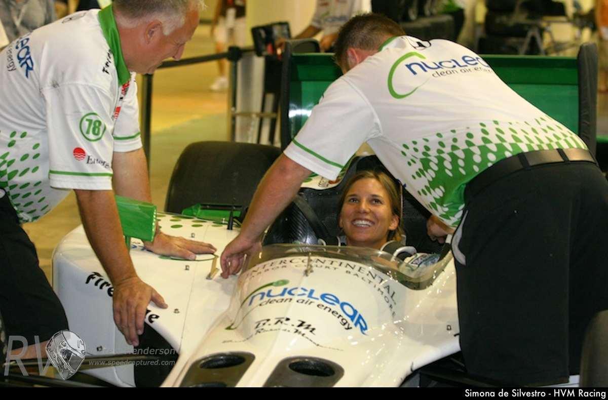 Simona de Silvestro - HVM Racing