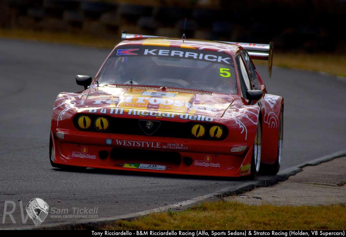 Tony Ricciardello - B&M Ricciardello Racing