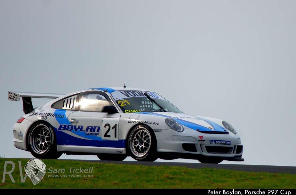 Peter Boylan, Porsche 997 Cup