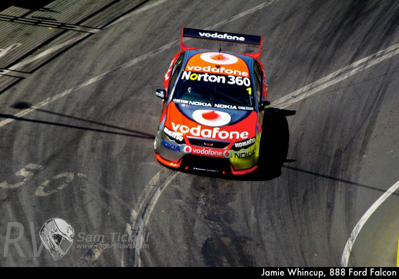 Jamie Whincup, 888 Ford Falcon