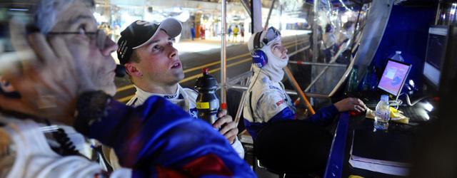 Christian Klein at Le Mans with Peugeot (c) Peugeot Sport