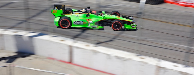 2012 IZOD Indycar from the streets of Long Beach