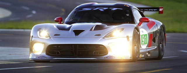 The 2012 factory Dodge Viper (c) ALMS