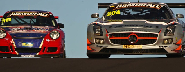 Jeroen Bleekemolen racing the Erebus Racing Mercedes at Bathurst