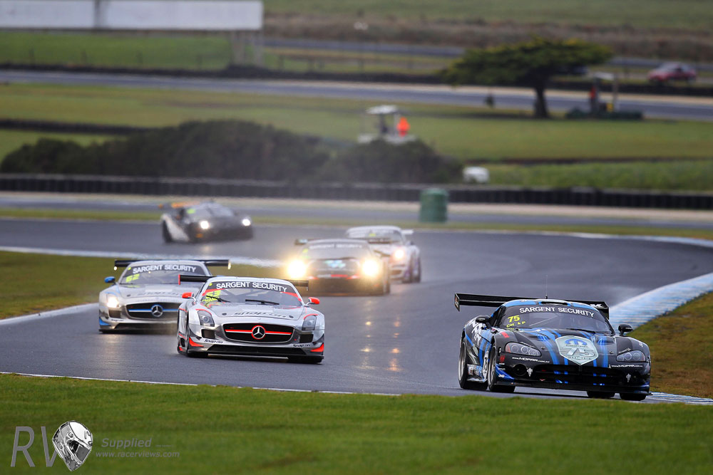 Greg Crick took the GT race and weekend victory in his Dodge Viper GT3 (PHOTO: Nathan Wong)