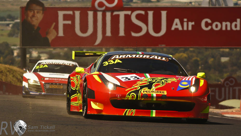 Craig Baird finished on the podium at the 2012 Bathurst 12 Hours in the striking Clearwater Ferrari 458 GT3