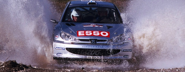 Marcus Gronholm, seen here in 2000 - the year he won his first WRC title will return to competition with Rallycross this year