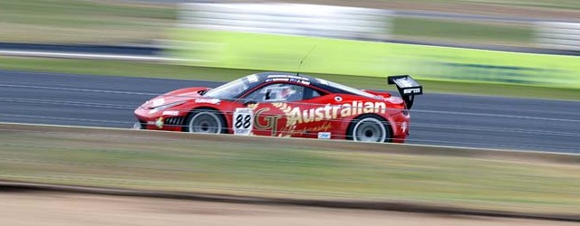Maranello Motorsports took over Tony Quinn's Ferrari at Winton while theirs was being repaired.