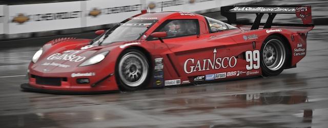 The Bob Stallings GAINSCO Riley Corvette at Detroit