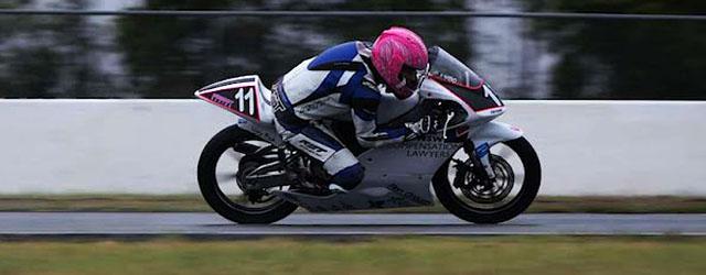 Brandon Demmery racing in the Superlites class at Queensland Raceway