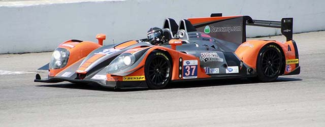 Conquest Racing took out P2 in their Pescarolo Nissan