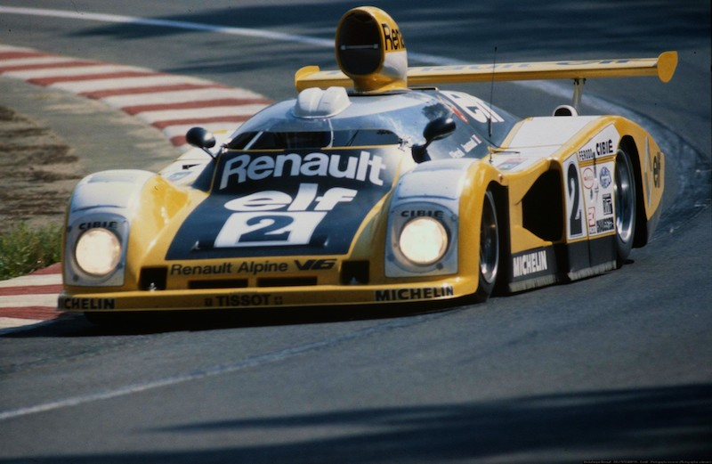 The 1978 Renault Alpine Le Mans car sprouted a 'canopy'...will F1 look the same?