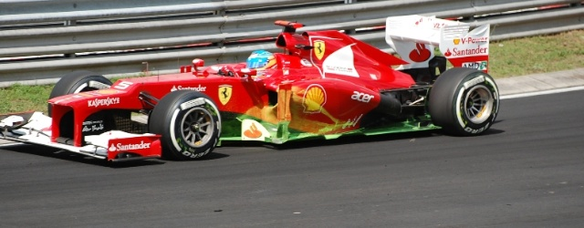 Fernando Alonso in the Ferrari leads the Championship coming into the Eni Hungarian F1 Grand Prix