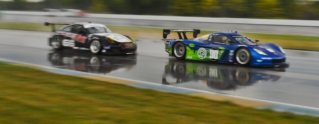 A historic day for the Grand Am Championship as they race at the Indianapolis Motor Speedway