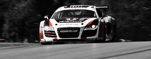 The Audi has made a splash in Grand Am