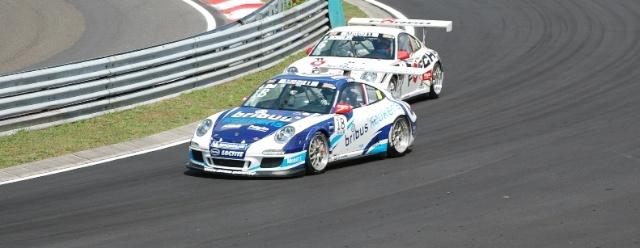 Porsche Supercup from the Hungaroring