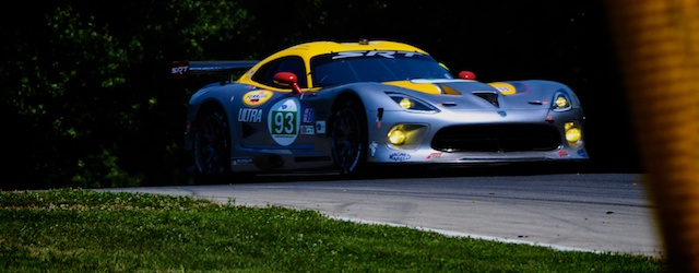 The SRT Dodge Viper had a difficult debut at Mid Ohio