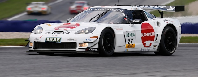 It was 2 top 5 finished for Wirth and Frentzen at the Red Bull Ring (pic: ADAC GT Masters)