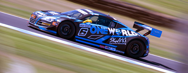 The One World Audi squad would double their attack on the Australian GT Championship with Craig Lowndes joining the squad for an one-off appearance