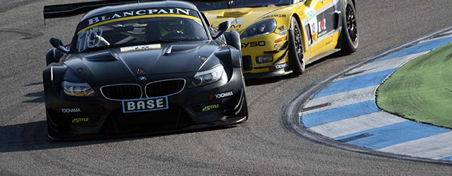 It was tight racing at Hockenheim for the ADAC GT Masters