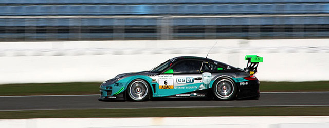 Iain Shankland was on hand for the final round of the ADAC GT Masters from Hockenheim