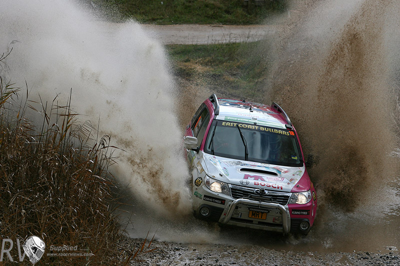 The MRT Performance crew go into Rally Victoria with the SUV title sown up (Photo: MRT Performance)