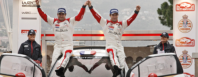 Loeb and Elena were peerless again in Monte Carlo (Picture - Michelin)