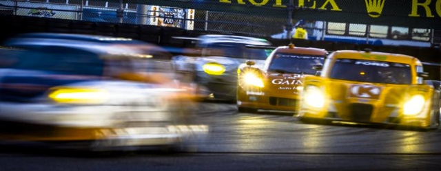 Sunrise at the 2012 Rolex 24 At DaytonaSunrise during the Rolex 24 At Daytona