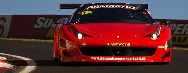 The Maranello Motorsports Ferrari 458 GT3 was massively quick in 2012