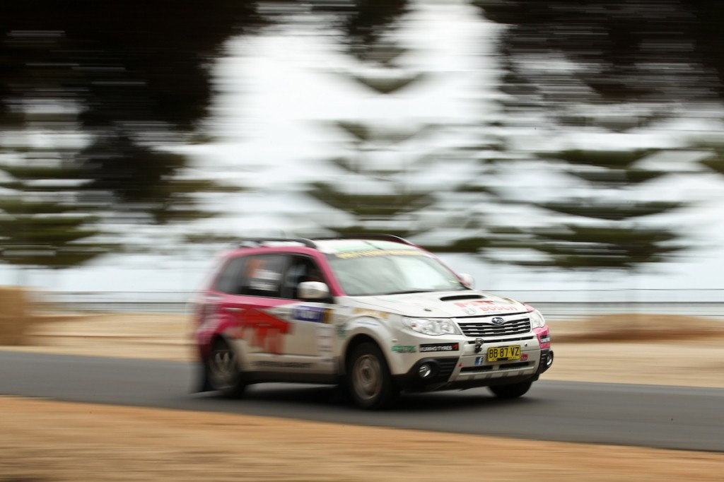 Brett Middleton and the MRT Performance Subaru will be taking part in the National Capital Rally this weekend to kick off the ECB Australian Rally Championship