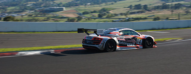 Rob Huff was racing his first GT race at the 2013 Liqui Moly Bathurst 12 Hour