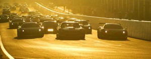 The 2013 Liqui Moly Bathurst 12 Hours got underway in the morning light