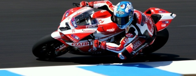 Carlos Checa is on pole at Phillip Island