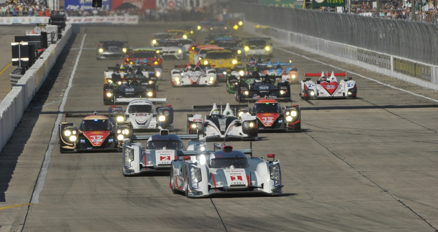 The start of the final ALMS version of the Sebring 12 Hours (Photo: ALMS)