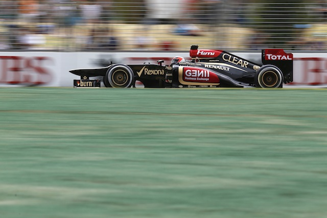 Kimi Raikkonen in his Lotus took out the Rolex Australian Formula 1 Grand Prix (Photo: Lotus)