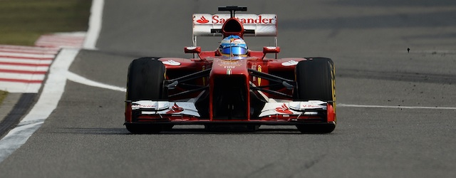 Alonso made up for the disappointment at Malaysia with a China win (Photo: Ferrari)