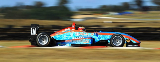 Ben Gersekowski has been getting to grips with his Dallara F307 taking top 5 finishes (Photo Formula 3 Australia)