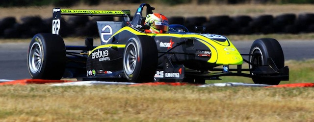 Jack Le Brocq in the Erebus Academy Mygale Mercedes reached the podium both at Bathurst and Tasmania (Photo Australian Formula 3)