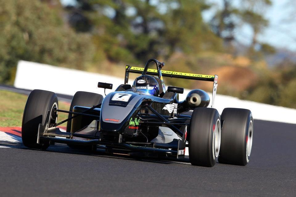 Steel Guiliana was on hot form at Bathurst even if the results didn't go his way