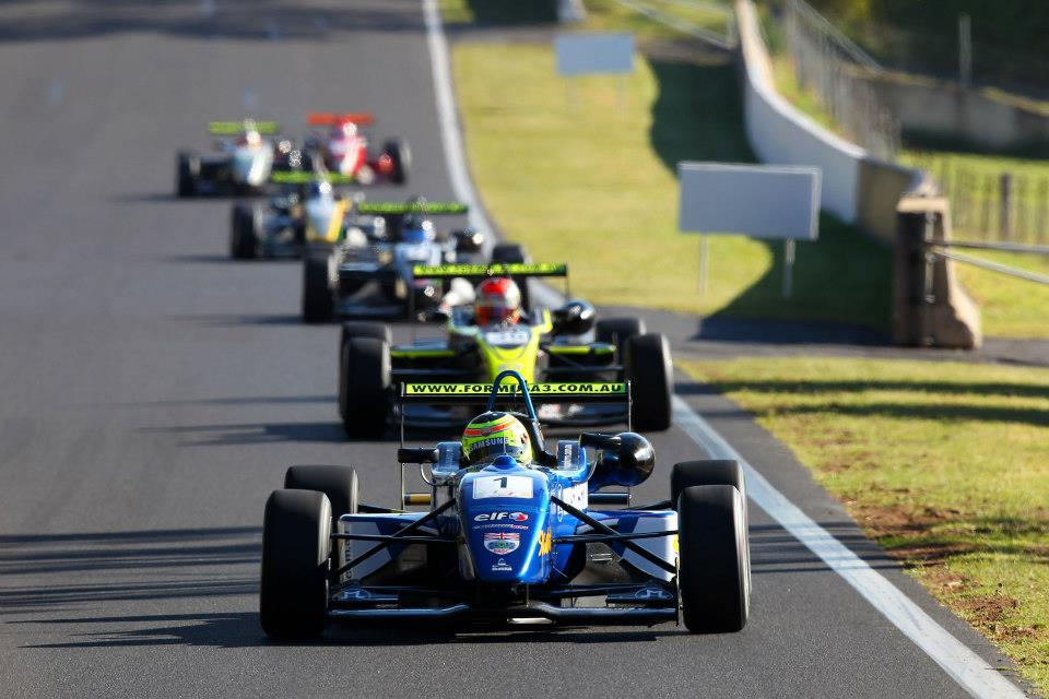 James WInslow had a success race at Bathurst as he looks to take the next step in his career (photo: Australian F3/Nathan Wong)