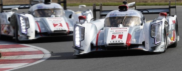 Audi took a dominant 1-2 at the FIA WEC opener at Silvertone (photo: Audi Sport)