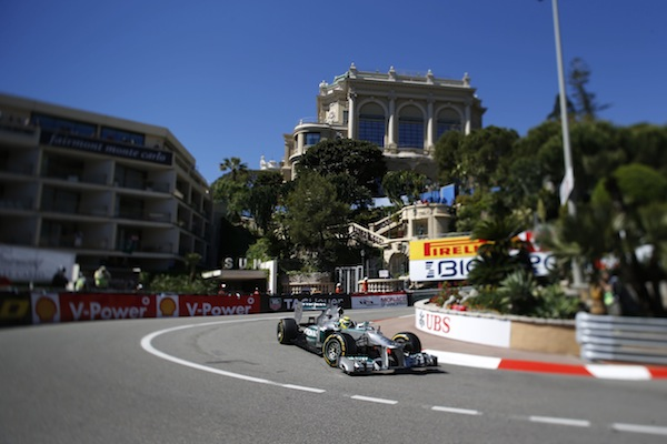 Nico Rosberg played the chess game well, taking the win at Monaco (Photo: Mercedes)