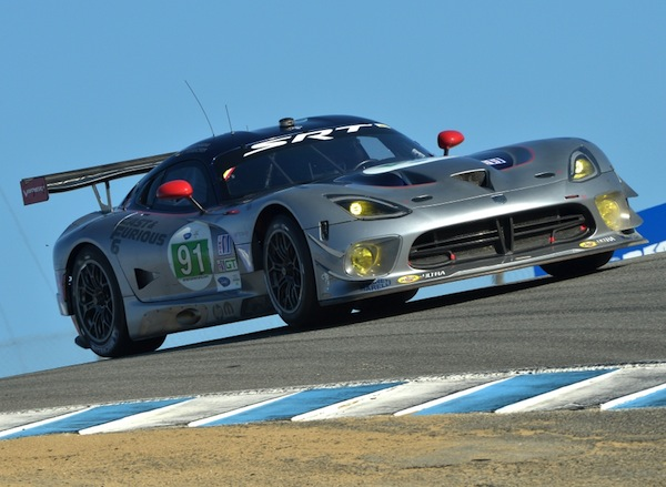 SRT Viper at the Corkscrew (Photo: ALMS)