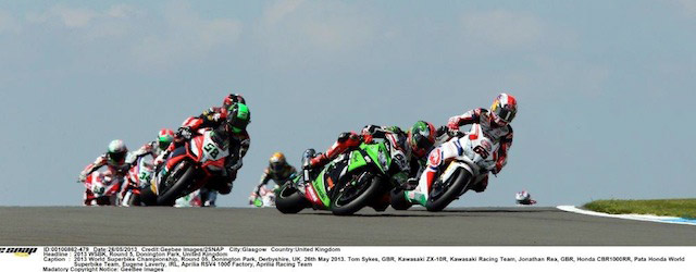 World-Superbike-action-Donington-Sykes-leads-the-field