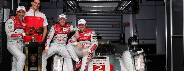 Audi win Le Mans